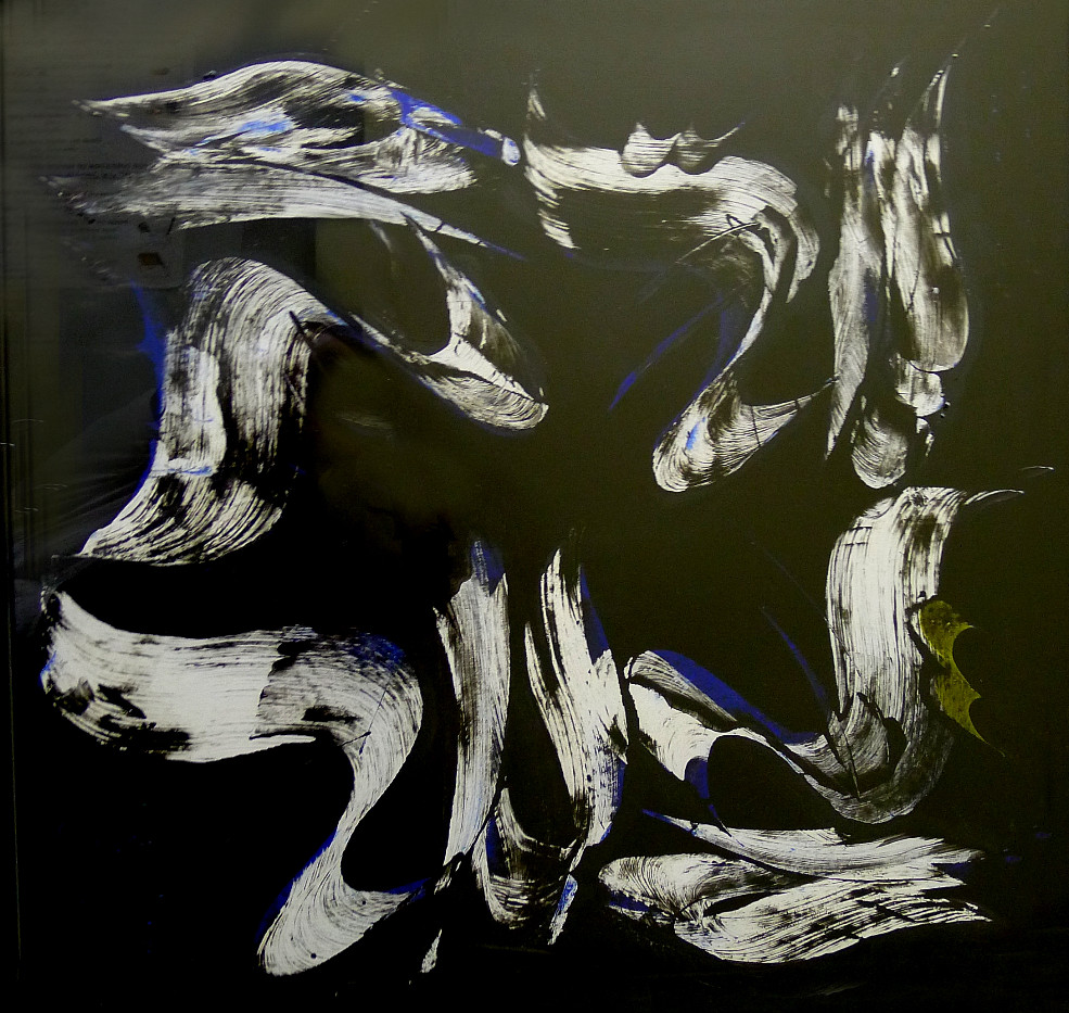 Mohammad Ehsai Mix media on cardboard 70 x 70 cm