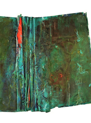 Mix media on canvas 110 x 110 cm 2010