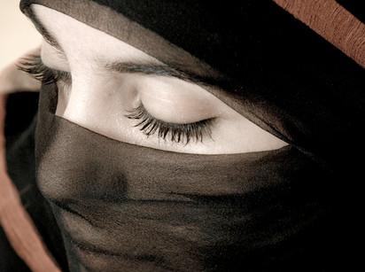 Abdulrahman Jaber, woman portrait, Yemen