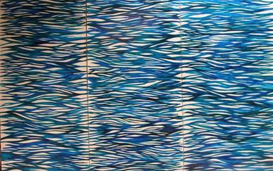 Christina Mamakos Ink on paper 215 x 285 cm