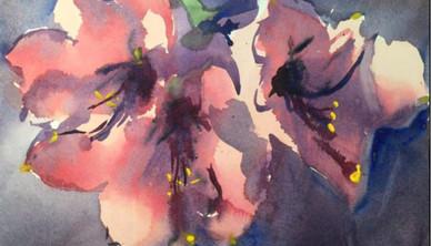 Creation 2 Watercolor 30.4 x 40.6 cm