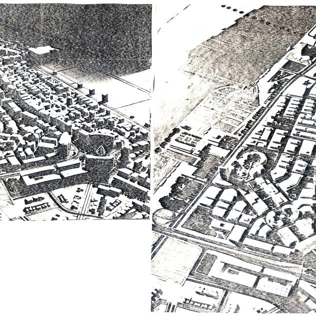 General view of the urban development scheme