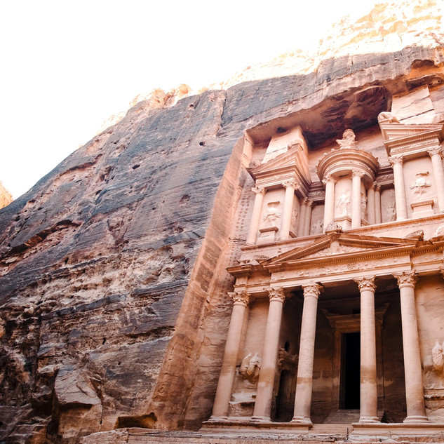 Al Khazneh, also known as the Treasury in Petra