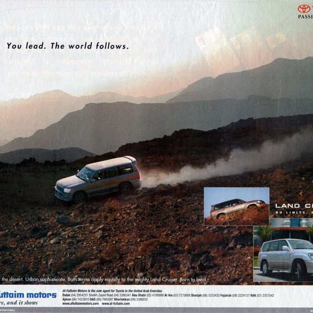Toyota advertisement