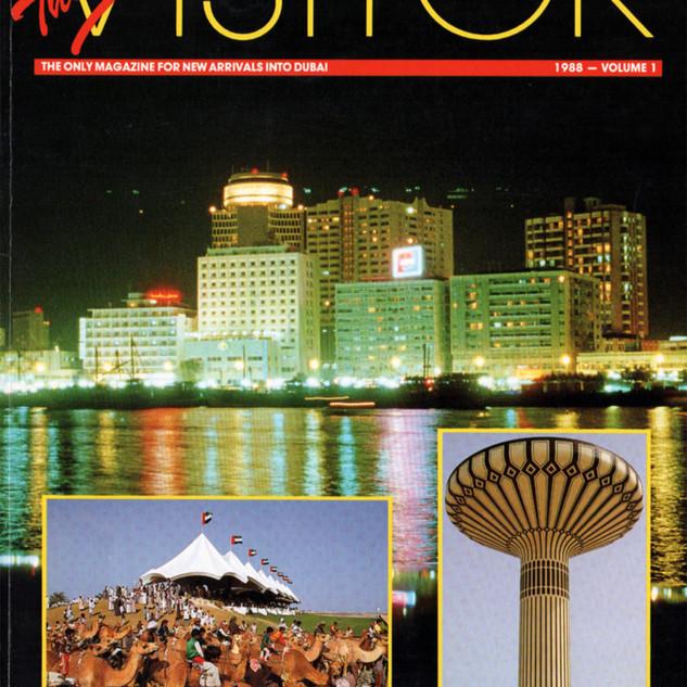 The Dubai Visitor magazine cover
