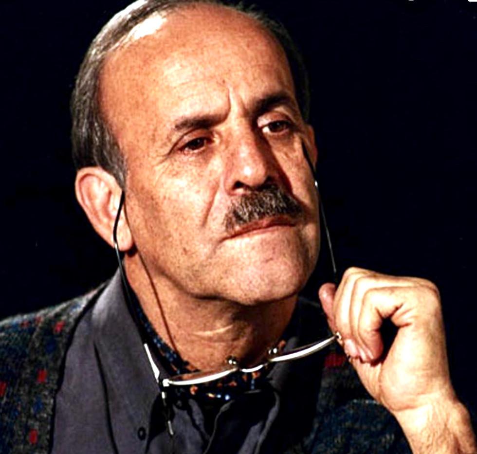 Master calligrapher Yadollah Kaboli