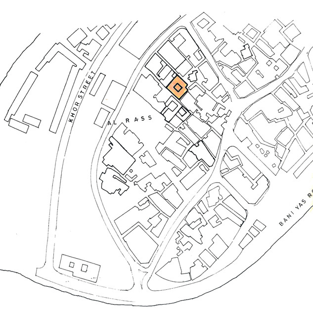 Location of Al Ahmadiya School in Dubai