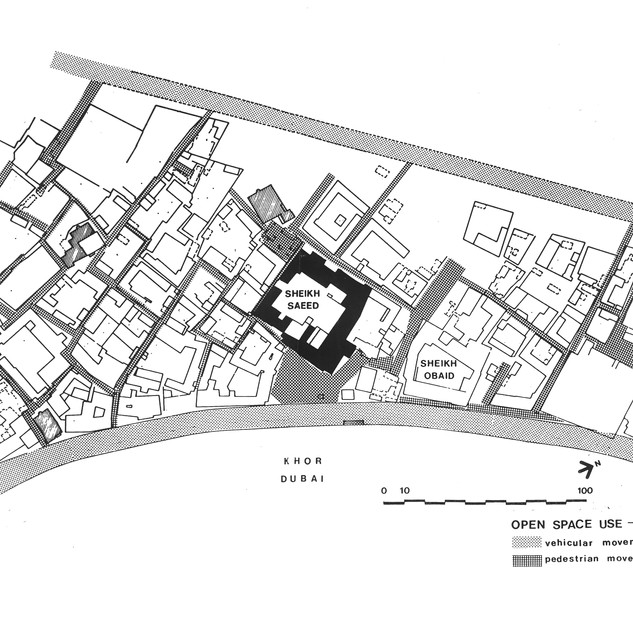 Location plan of Sheikh Saeed House