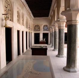 Walkway in Al Ahmadiya School