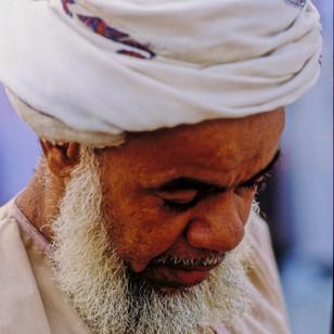 Old man in Rustaq, Oman