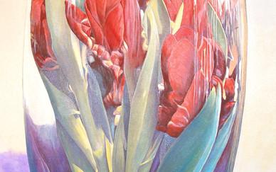 Salar Ahmadian Acrylic on canvas 200 x 100 cm