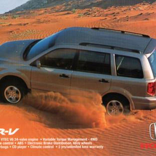 Honda advertisement