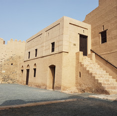 Interior of Fujairah Fort