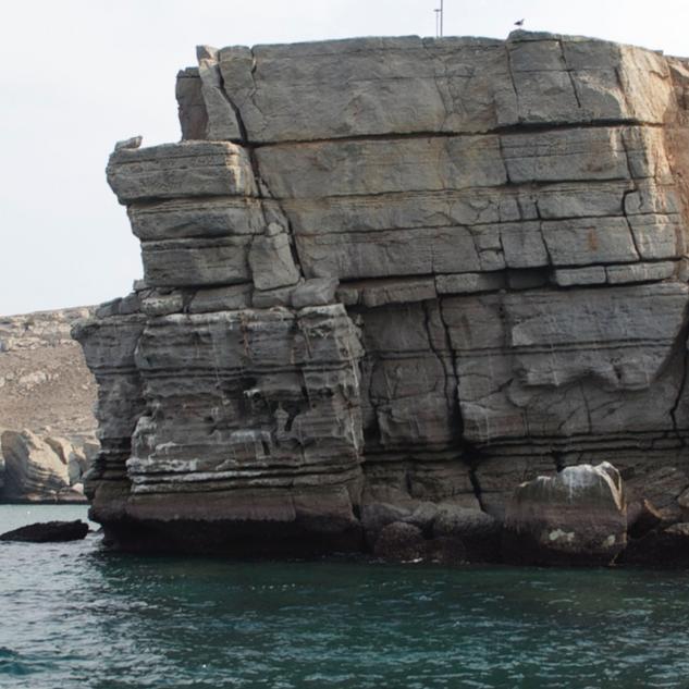 Khasab Resort location at Oman's Musandam cliffs