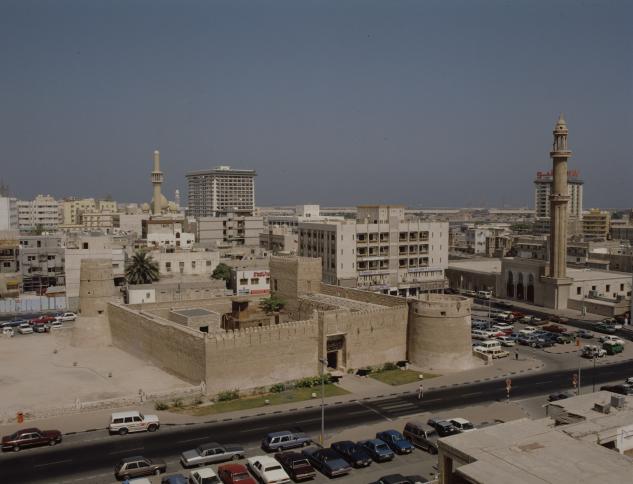 Dubai Museum within the Al Fahidi neighborhood of Dubai