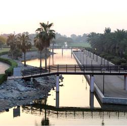 Safa Park central waterway