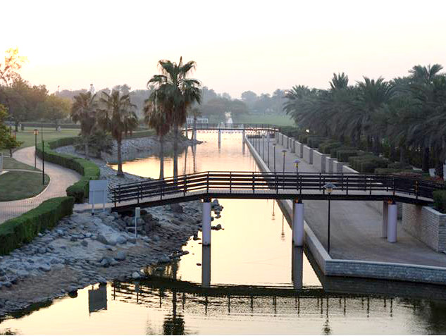 Safa Park central waterway
