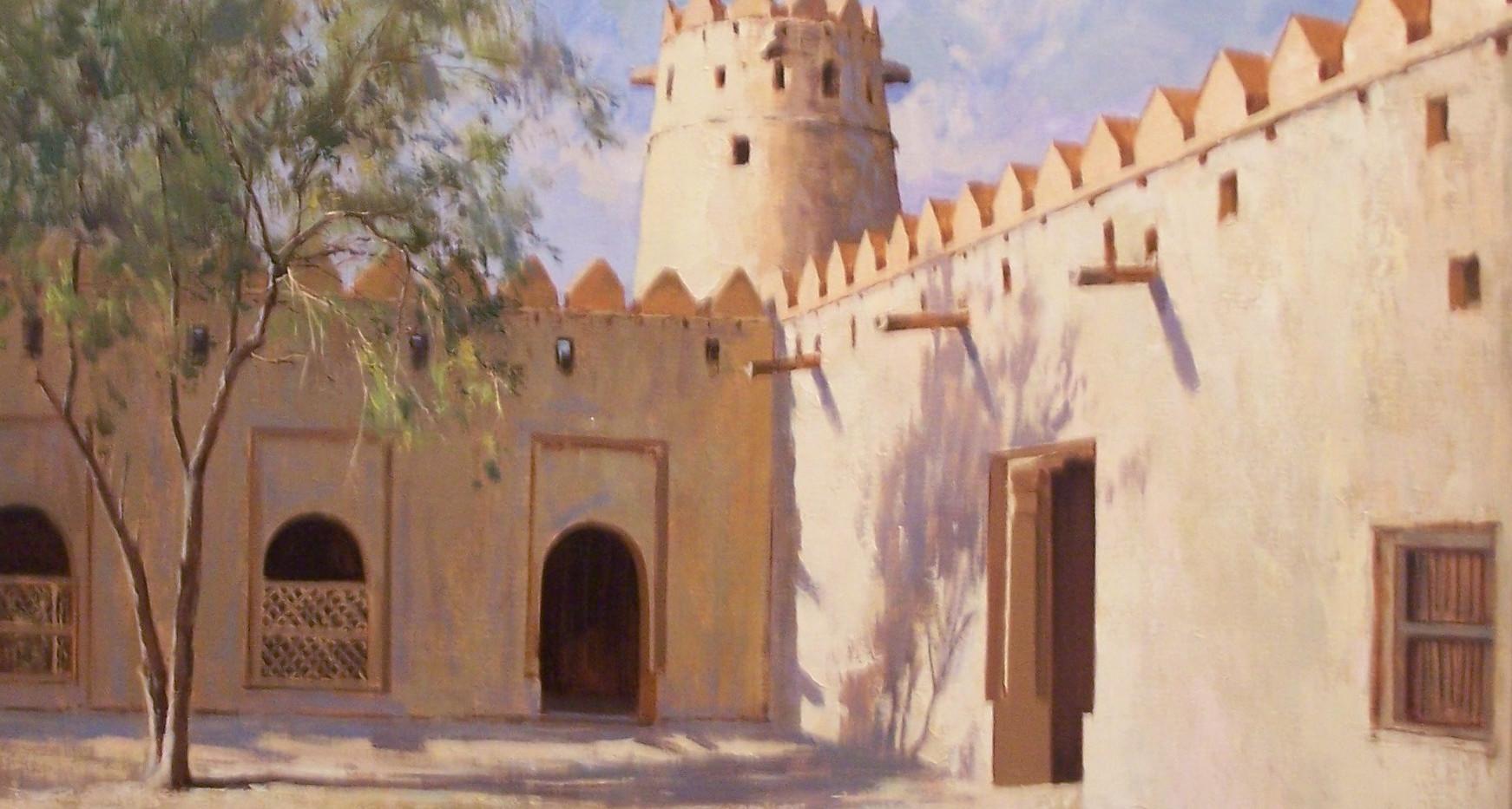 Mohseni KermanshahiCourtyard Jaheli Fort, Al Ain
