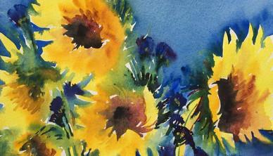 Creation 1 Watercolor 30.4 x 40.6 cm
