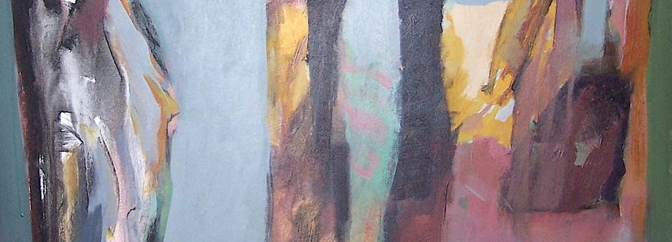 Ismail Al Rifai Acrylic on canvas 120 x 80 cm
