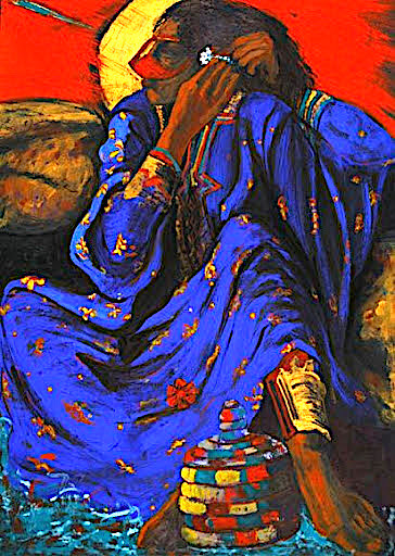 Hussein Ahmadi-Nassab Acrylic on canvas 50 x 70 cm