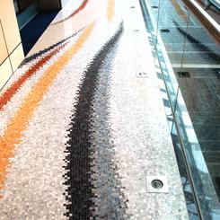Commercial Bank of Dubai upper floor corridor