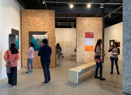 Emerging Artists installation view