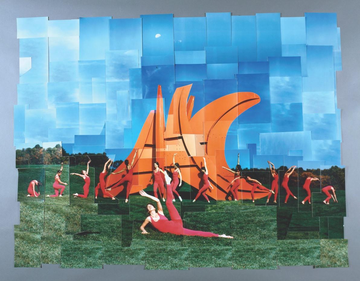 Dancer photomosaic Claude Samton
