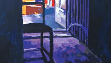 Farid Jahangir Acrylic on canvas 100 x 120 cm
