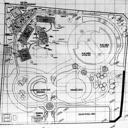 Plan of Al Khazzan water tower and park