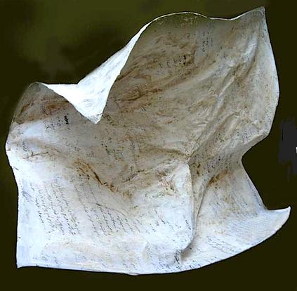 My diary Paper & mix media 80 x 80 cm 2008