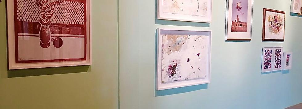 Exhibition view, Parvaneh Etemadi