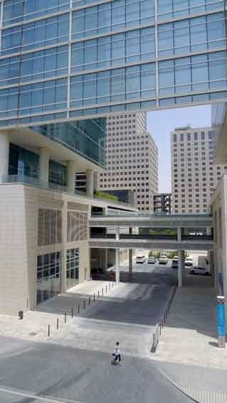 Main gate to the first phase of Downtown Jebel Ali