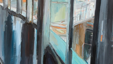 Melanie Munnerley Oil on canvas 50 x 70 cm