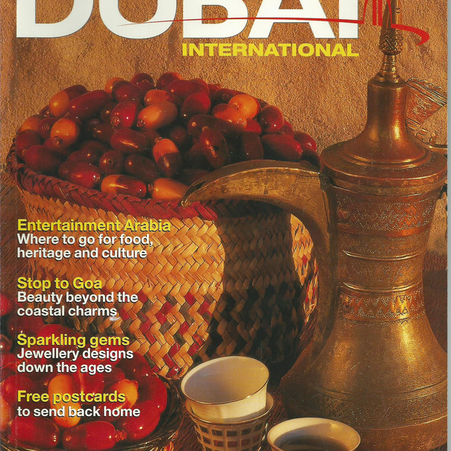 Dubai International Airport magazine cover