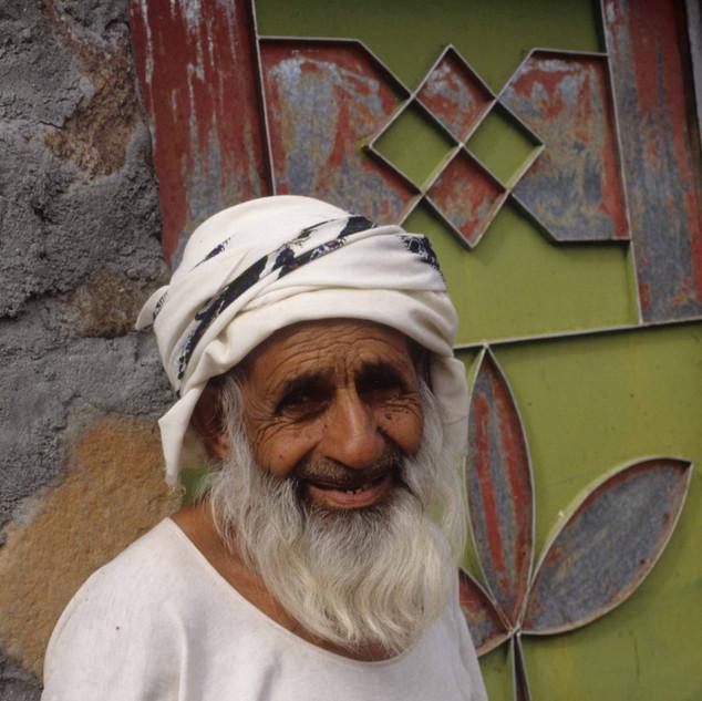 Old man in Shawkah, Ras Al Khaimah, UAE