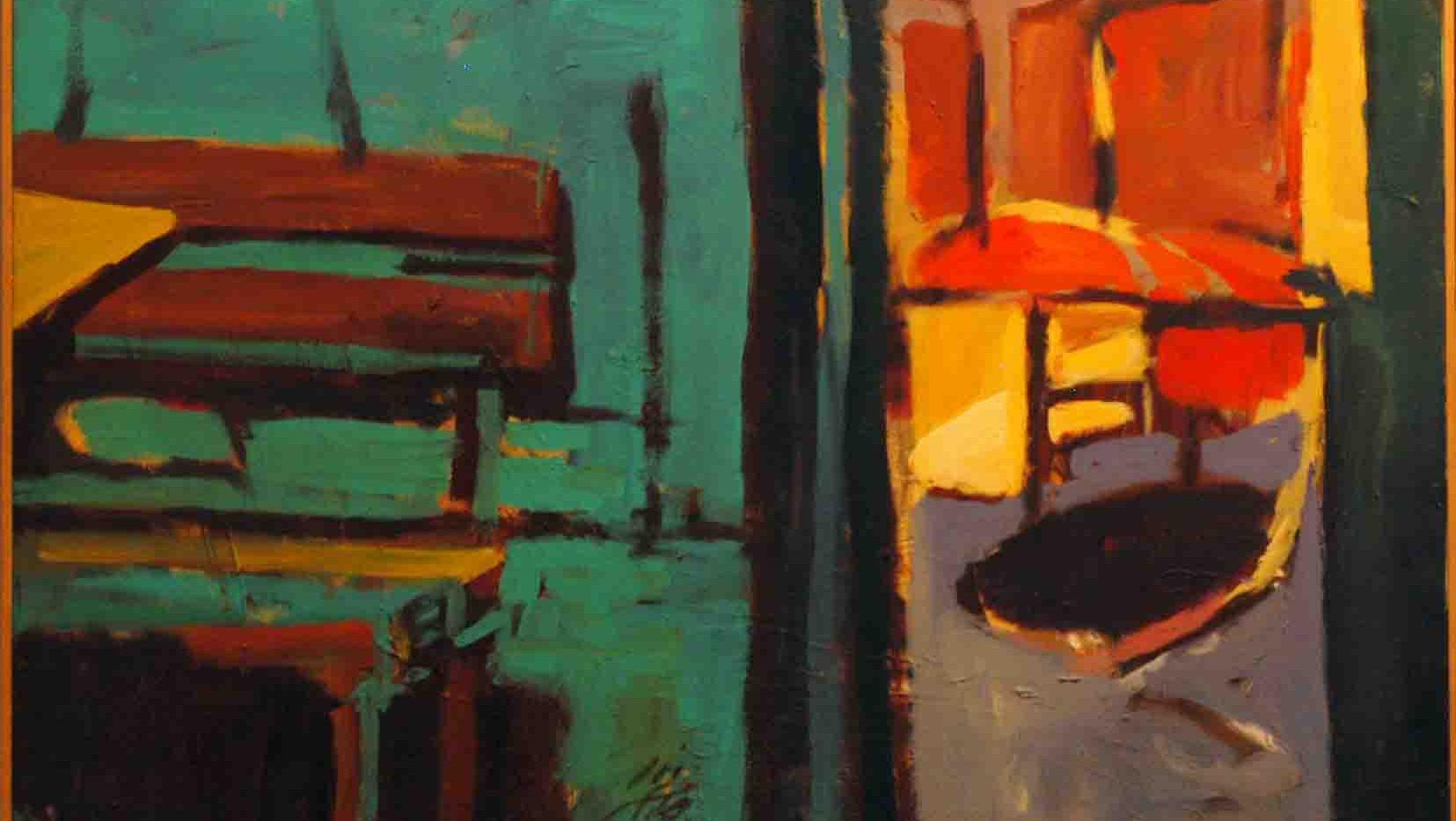 Farid Jahangir Acrylic on canvas 120 x 120 cm 2004