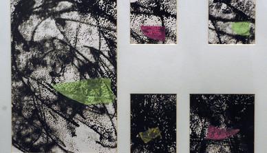 Abdul Rahim Salem Untitled Mixed media 53 x 73 cm 2008