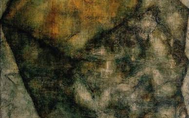 Christina Mamakos Boulder Mix media on canvas 150 x 120 cm 2002