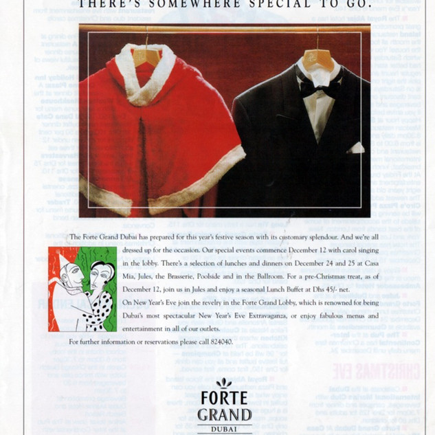 Forte Grand Hotel advertisement