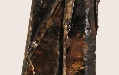 Mix media on folded canvas 47 x 125 x 17 cm 2010