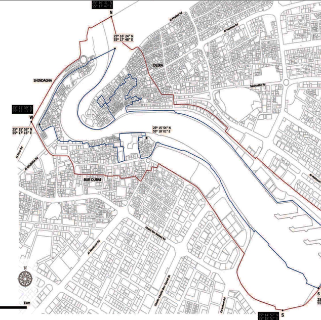 Map of the nominated property and the buffer zone