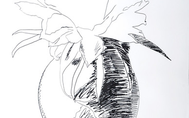 Andy Warhol, Flower Black & White