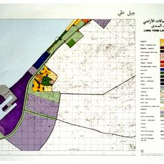 Long term land use plan for Jebel Ali