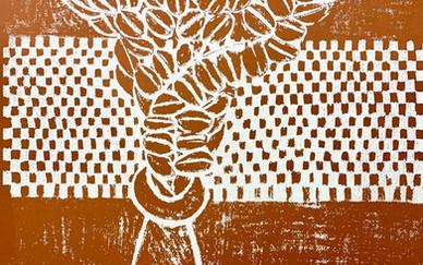 Parvaneh Etemadi, print on paper