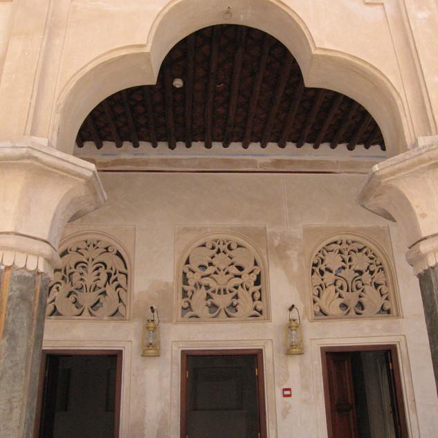 Archway in Al Ahmadiya School