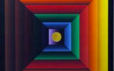 Francis Tansey Acrylic on canvas 100 x 100 cm