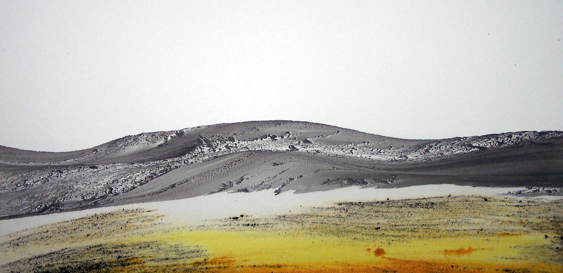 Aharon Gluska, 25 x 30 cm, mixed media