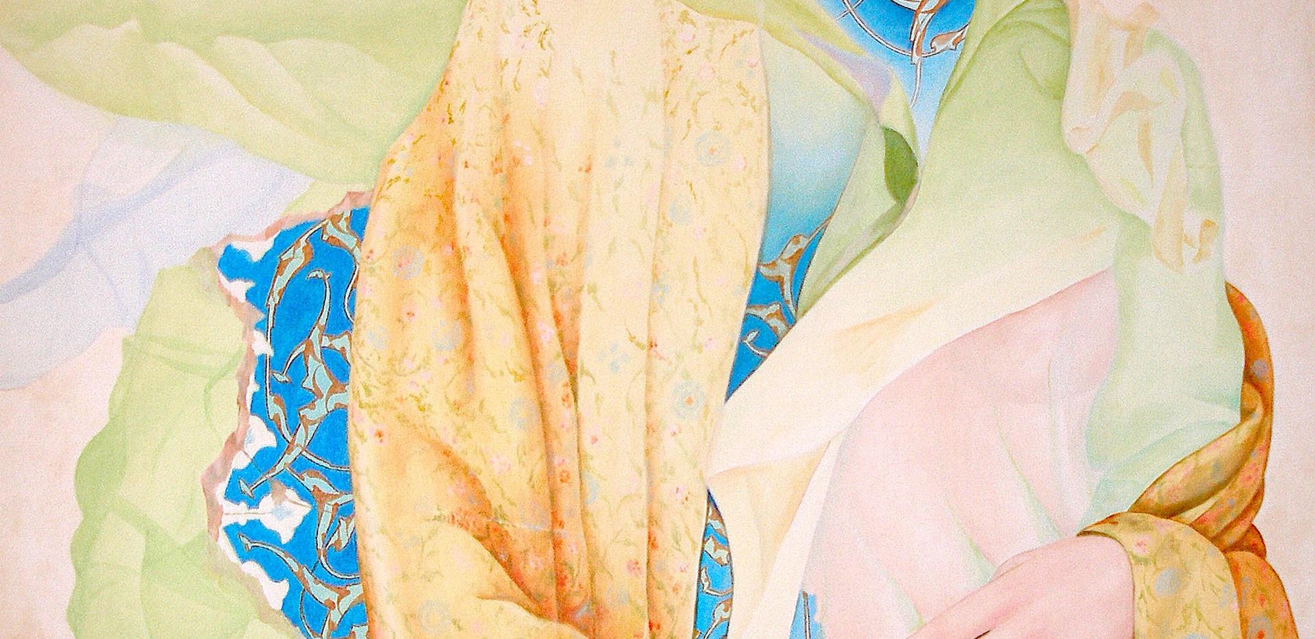 Salar Ahmadian Acrylic on canvas 150 x 100 cm 1996