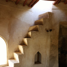 Staircase inside Fujairah Fort